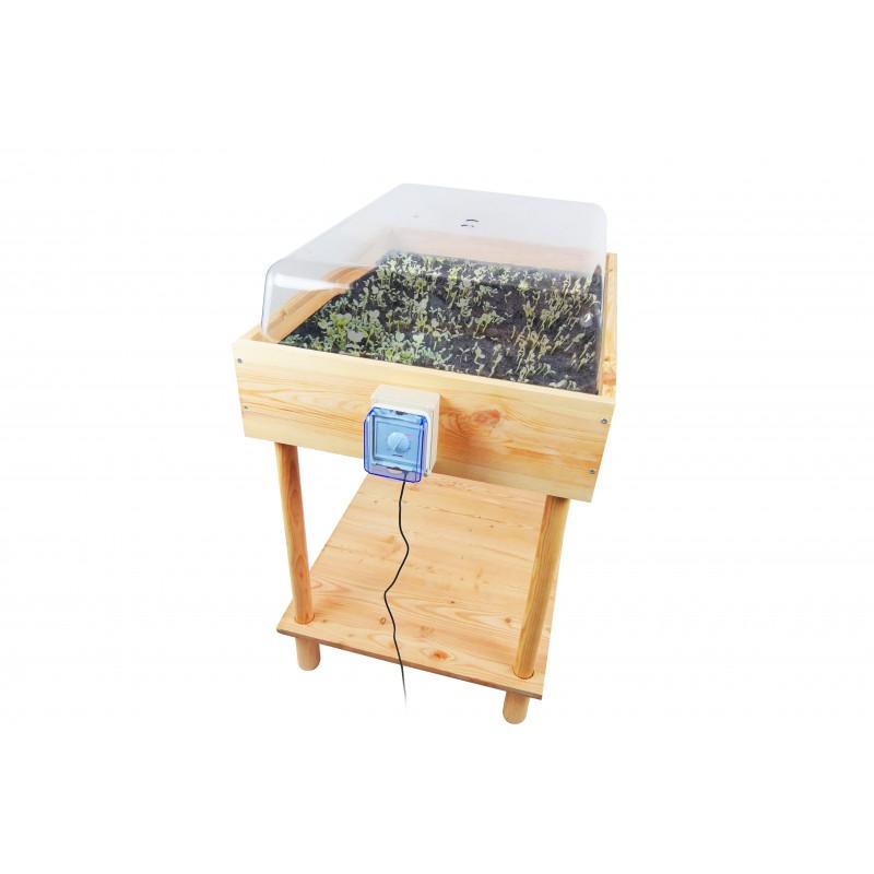 Le Germinateur va simplifier vos préparations pour le potager ou vous permettre de cultiver toute l'année des micropousses
